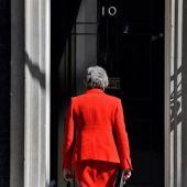 La exprimera ministra británica, Theresa May