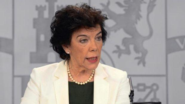 """Isabel Celaá, sobre Bildu: """"Todos los escaños son legales y legítimos"""""""