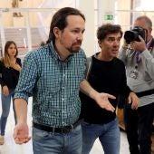 El líder de Podemos Pablo Iglesias, en el Consejo Ciudadano Estatal de Podemos