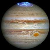Auroras en la atmósfera de Júpiter. 30-06-2016