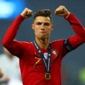 Cristiano Ronaldo, tras ganar la Nations League