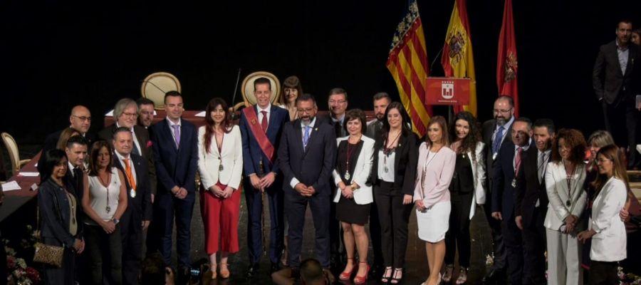 Concejales que integran la Corporación del Ayuntamiento de Elda.