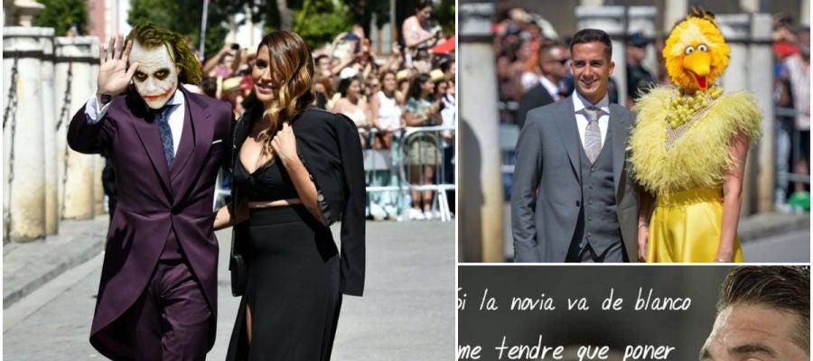 Memes de la boda entre Sergio Ramos y Pilar Rubio