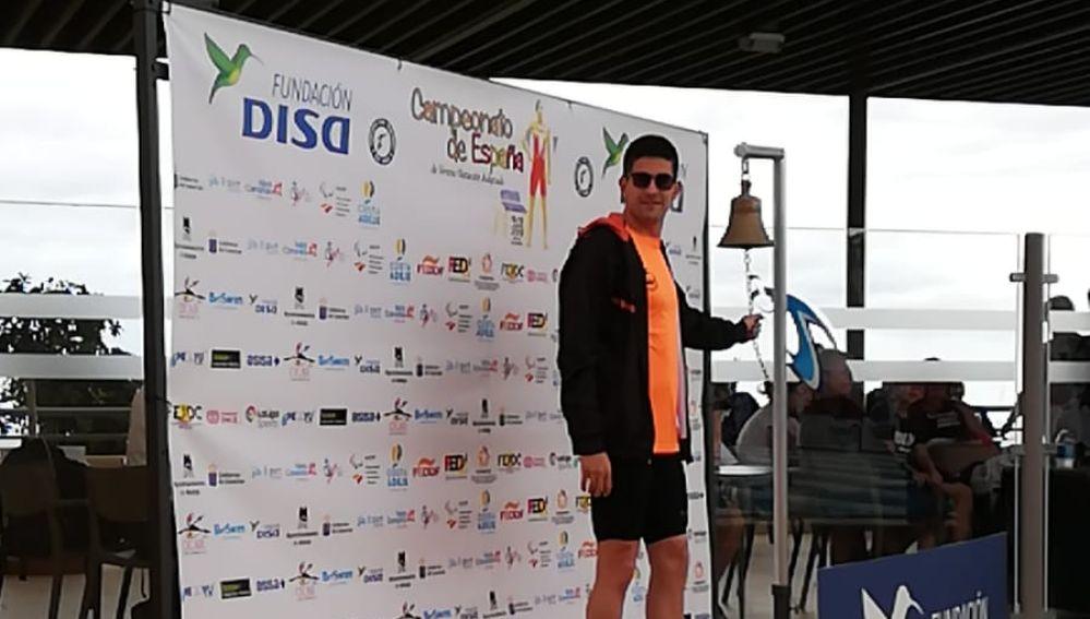 Luis Paredes fue el mejor en el Campeonato de España de Natación Adaptada celebrado en Tenerife.