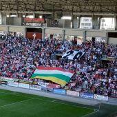Las Gaunas Partido entre UD Logroñés y Hércules de Alicante