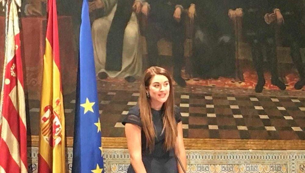 Mireia Mollà toma posesión de su cargo como consellera de Agricultura, Desarrollo Rural, Emergencia Climática y Transición Ecológica.