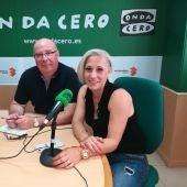 Sonia Terrero y Juan Antonio Carretero, miembros de la FAPA Gabriel Miró.