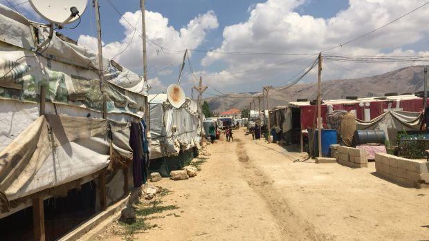 Ocho años después de la guerra en Siria, un millón y medio de refugiados sobreviven en condiciones muy precarias en Líbano