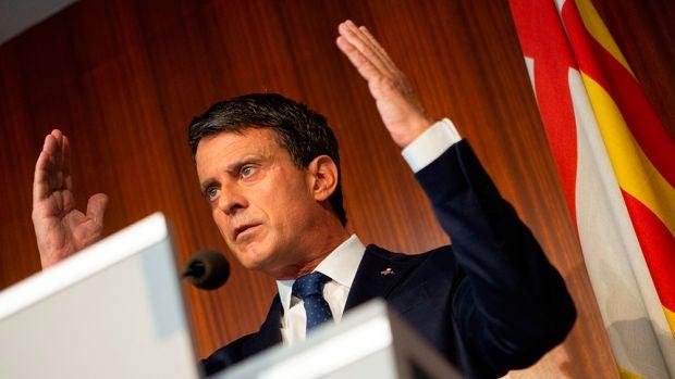 """Valls carga contra Ciudadanos por """"irresponsable"""" y por los pactos indirectos con Vox"""