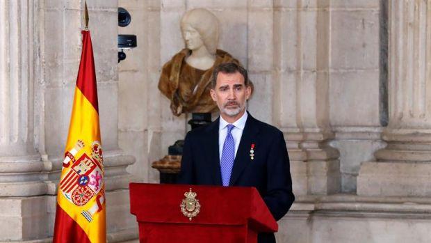 Felipe VI llama a la convivencia y a un destino común en democracia y libertad en su quinto aniversario de reinado