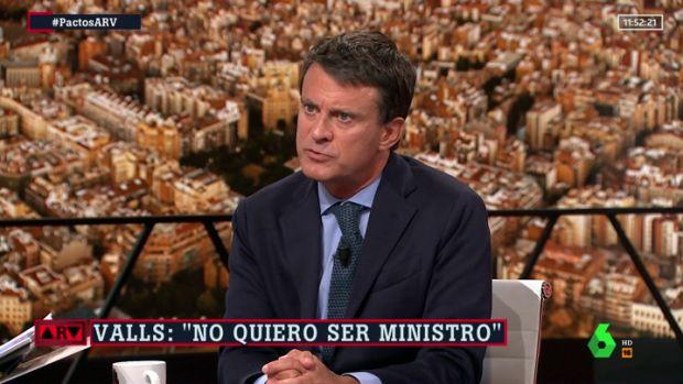 """Manuel Valls: """"Cuando pactas indirectamente con la extrema derecha te ensucias las manos"""""""