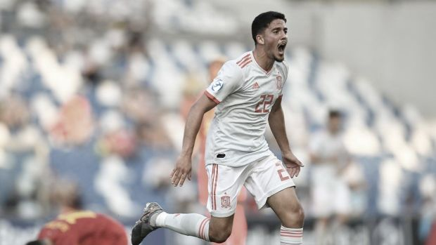 """Pablo Fornals: """"Tenemos que seguir corrigiendo errores y sacar al partido ante Polonia que es una selección muy dura"""""""