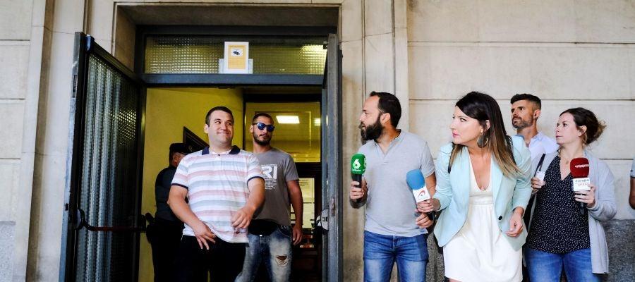 El exmilitar de la Manada, Alfonso Jesús Cabezuelo, y José Ángel Prenda 'el Prenda'