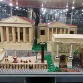 Nos colamos en la gran expo de Lego en el Puerto