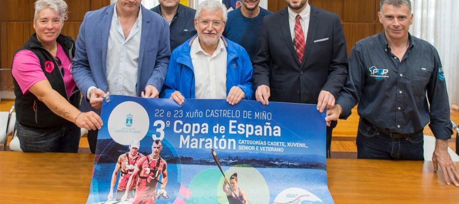 Rosendo Fernandez, presentación copa españa de piragüismo