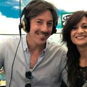 Álvaro Sardinero y Eva García