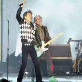 Los Rolling Stones vuelven al escenario tras la operación de corazón de su cantante