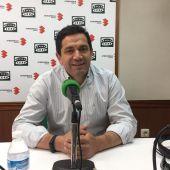 Miguel Ángel Valverde, durante la entrevista en Onda Cero Ciudad Real