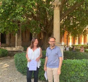 Francina Armengol y Josep Castells