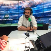 Borja Fernández con José Ramón de la Morena