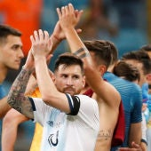 Messi, tras el partido ante Catar