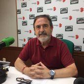 José Luis Villanueva, alcalde de Aldea del Rey, durante la entrevista en Onda Cero Ciudad Real