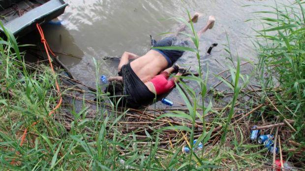 Un padre migrante y su hija mueren ahogados al cruzar el río Bravo camino de EEUU