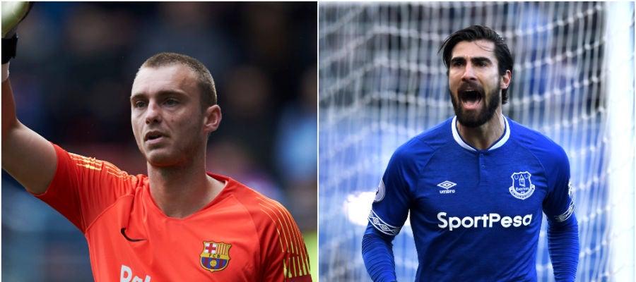 Cillessen y André Gomes dicen adiós al Barcelona