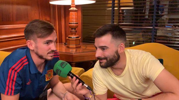"""Fabián Ruiz: """"¿El hombre de moda en la Sub-21?, sólo pienso en dar lo mejor y trabajo para ello"""""""