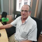 Paco Arrabal en los estudios de Onda Cero Málaga