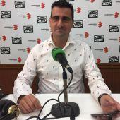 Ignacio García, durante la entrevista en Onda Cero Ciudad Real