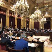 Pleno del Parlament balear