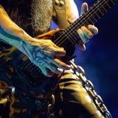 El guitarrista Kerry King, de la banda de metal estadounidense Slayer.