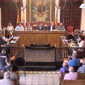 Pleno municipal del Ayuntamiento de Elche.