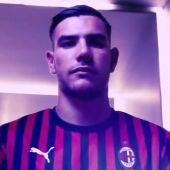 Theo Hernández, con el Milan
