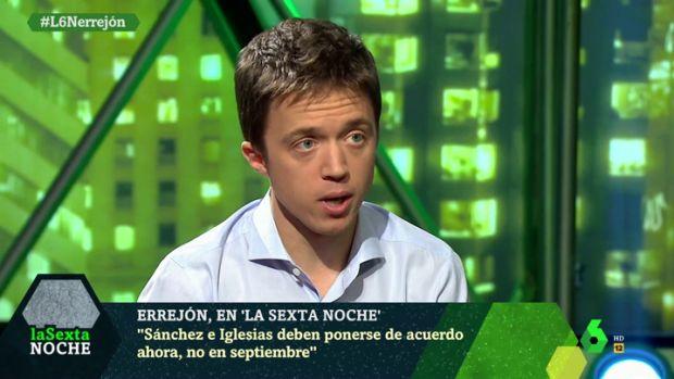 """Así ha moldeado Errejón su discurso: Del """"no"""" rotundo, a concurrir a las elecciones generales"""