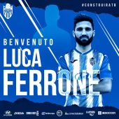 Luca Ferrone, nuevo jugador del Atlético Baleares