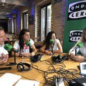 César Muniáin, Tito Iribarren, Miriam Rivas, Nerea Valeriano