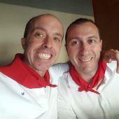 Juantxo Gazpio y Javier Saralegui