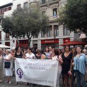 Más de 500 personas se han concentrado en Palma contra la impunidad en la violencia sexual.