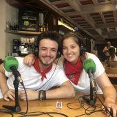 Javier Erro y Amaia Arboniés