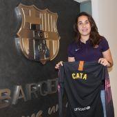 La guardameta mallorquina, Cata Coll, ficha por el Barcelona
