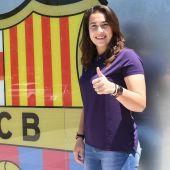 La portera mallorquina, Cata Coll, ficha por el Barça hasta 2023