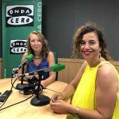 La portavoz del Govern balear y consellera de Presidencia, Cultura e Igualdad, Pilar Costa (PSIB), es entrevistada por Elka Dimitrova.