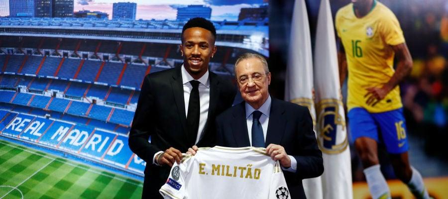 Militao, presentado como nuevo jugador del Real Madrid