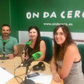 Serafín Quiles, gerente de Ascensores Serki; Mayte Vilaseca, periodista de Onda Cero; y Mila Ramírez, directora de Marketing de Ascensores Serki.