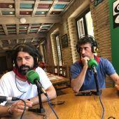 José Luis Tejedor y Jaime Aguirre