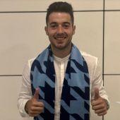 Jony en su llega a Roma para jugar en la Lazio