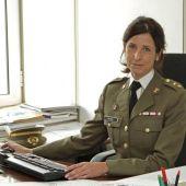 La coronel Patricia Ortega (Archivo)