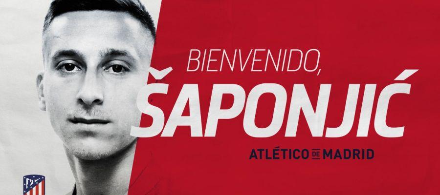 El Atlético da la bienvenida a Ivan Saponjic